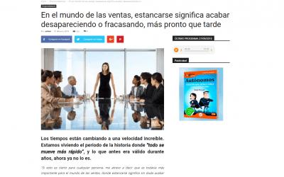 El GuíaBurros: El vendedor total, de Carles Seguí, en el medio especializado en economía colaborativa; Colaborum
