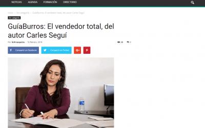 El medio de comunicación EnFranquicia recomienda a sus lectores el GuíaBurros: El vendedor total