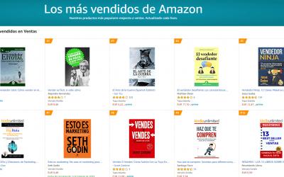 El GuíaBurros: El vendedor total, Nº1 en ventas en Amazon